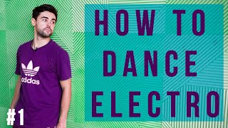 Loony Boy Electro dance lessons Part 1 New York Dance Studio