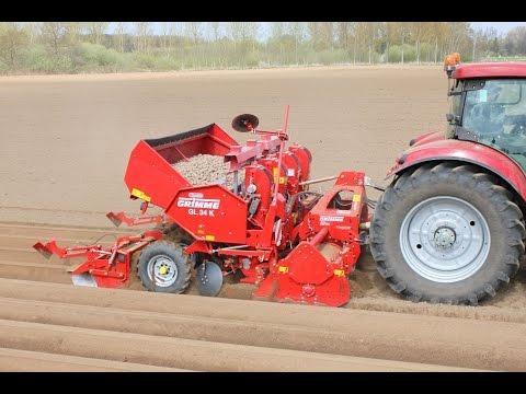 2bfg 14 Tiller Based Planter In Use In South Texas Doovi