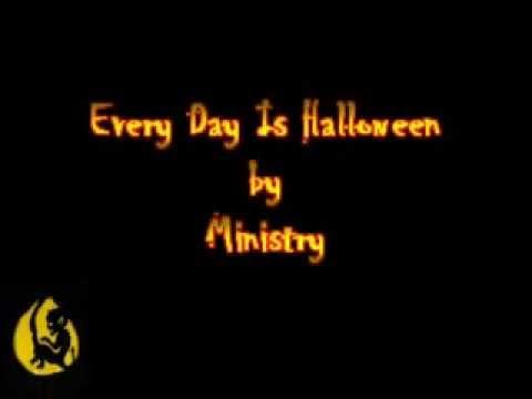 Ministry - Every Day is Halloween [Karaoke]
