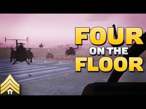 Four on the Floor - Arma 3 MH-6 Formation