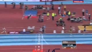Русская зима 2015 - 800м женщины финал А