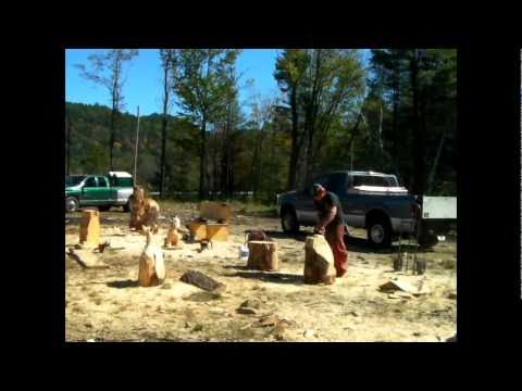 Chainsaw artist,buzz saws music by zz top recorded...