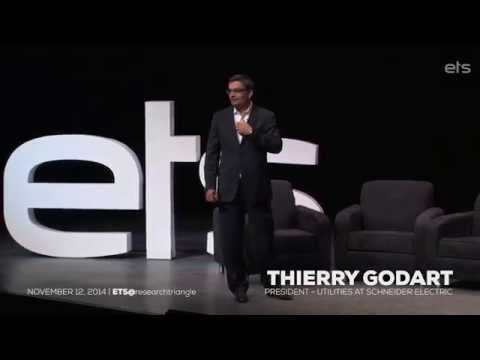 ETS@researchtriangle 2014 Keynote: Thierry Godart, Schneider Electric, President - Utilities