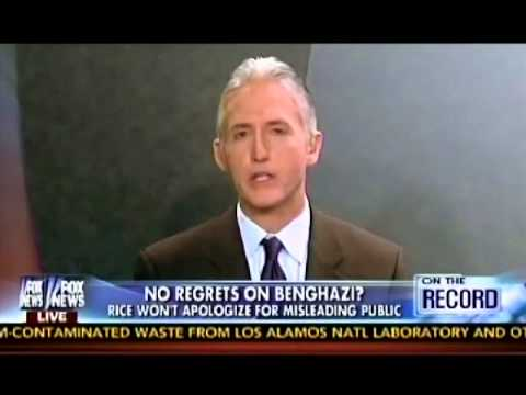 Gowdy: Susan Rice 'stunningly arrogant' with no regrets on misleading Benghazi talking points