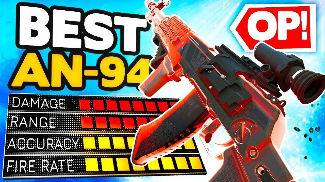 L´AN-94 est imbattable (Meilleure classe warzone)top1