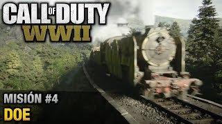 Call of Duty: World War II - Misión #4 - DOE (Español/Sin Comentario - 1080p 60fps)