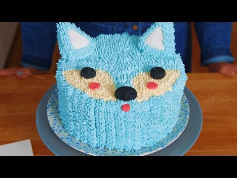 How To Make The Cutest Arctic Fox Holiday Cake