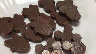 DISNEY MICKEY and MINNIE MOUSE  HOMEMADE CHOCOLATE Easy and Delicious