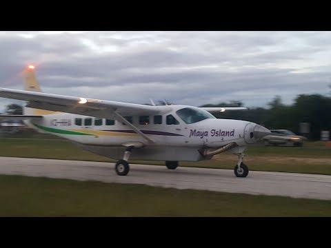 Maya Island Air Placencia to Belize city