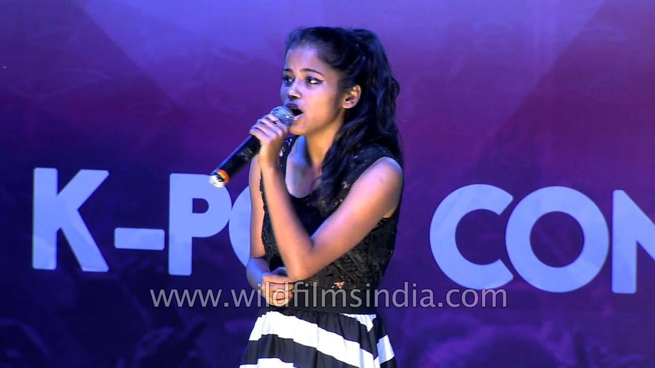 Priyanka Mazumdar From Guwahati Performs At K Pop Grand Finale Delhi Youtube