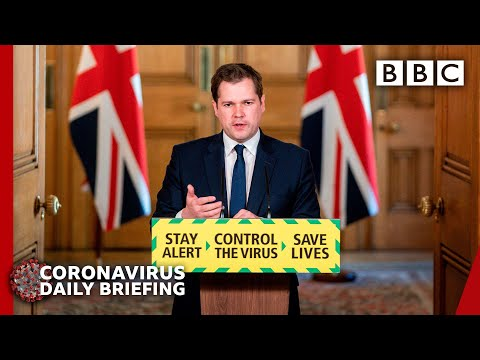 Rules relaxed for those shielding from virus, minister - Covid-19 Government Briefing 🔴 BBC