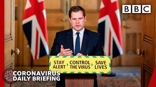 Coronavirus: England lockdown easing defended - Covid-19 Government Briefing 🔴 BBC