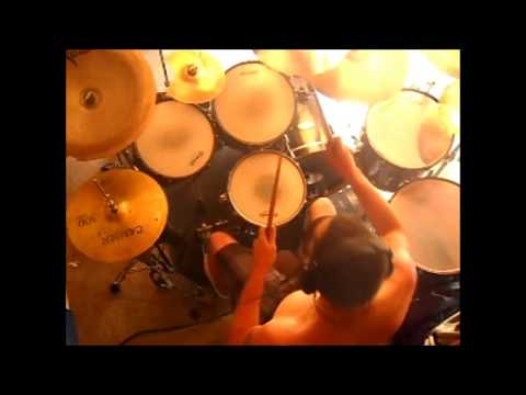 Mark Warner, Devil Driver Digging Up The Corpses Drum Cover