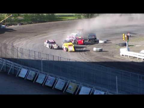 Nodak Speedway IMCA Sport Mod Heats (5/14/17)