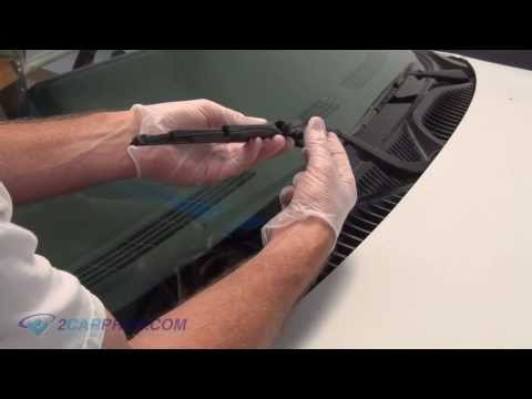 how to change wiper on ridgeline 2008
