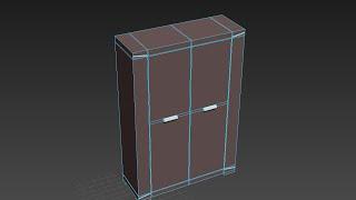 Моделирование шкафа в 3DS Max 2016. Спальня (Урок №4)