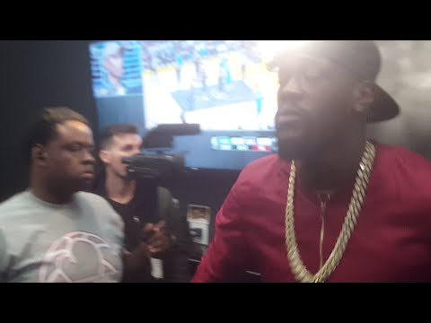 LIVE! DEONTAY WILDER MEDIA WORKOUT!