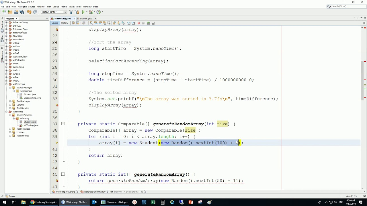 CS 231-202 Programming II (Java 2) - Mohamed Y  El Amrani