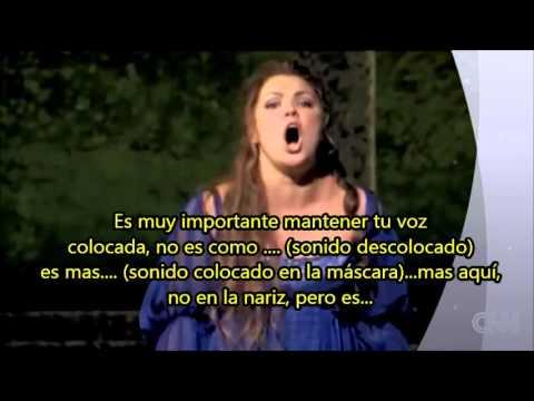 Anna Netrebko y su técnica vocal