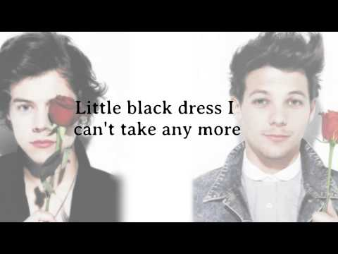 Little Black Dress One Direction Letrass