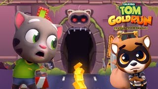 Talking Tom Gold Run Android Gameplay - Talking Tom Catch the Raccoon HD Ep 1
