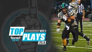 HS Football | Storied Rivals' Top Plays - Week 4, 2016