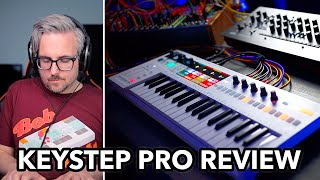 Keystep Pro Hands-On Review: Arturias long awaited midi keyboard & sequencer is FINALLY here!