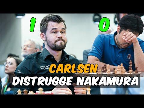 Carlsen Distrugge Nakamura all'Invitational 2020 - Mattoscacco