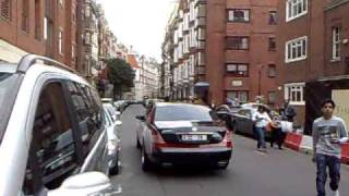 Maybach with Dubai plates Drives past in London Summer 2010