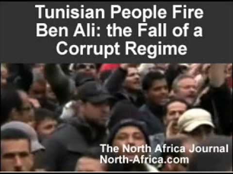 Tunisian People Chase Out Ben Ali: Fall of a Corrupt Regime