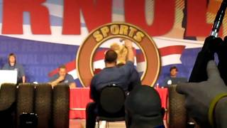 1110 lbs tire deadlift new world record zydrunas savickas at 2011 arnold classic