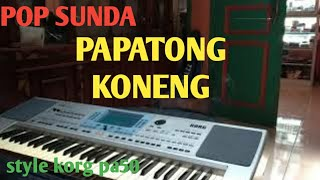 Download PAPATONG KONENG    POP SUNDA    KORG Pa50