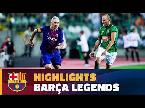 [HIGHLIGHTS] Stoichkov Friends – Barça Legends (3-2)