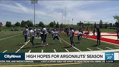 Argos gear up for the upcoming season