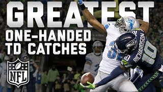 Greatest One-Handed Touchdown Catches of All Time | #TDTuesday | NFL Highlights