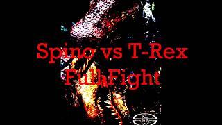 JP3 Spino vs T-Rex Full Fight