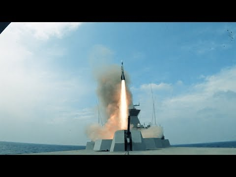 Republic of Singapore Navy: Aster Missile Firing