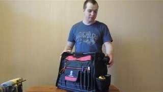 Обзор сумки монтажника КВТ С-06