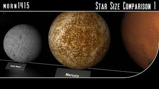 Star Size Comparison 1 (HD)