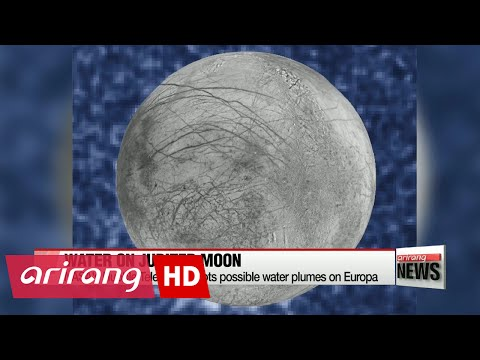 NASA's Hubble Telescope spots possible water plumes on Europa