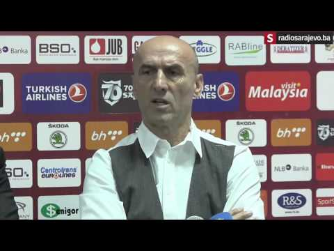 Press konferencija Fudbalskog kluba Sarajevo - 14. 3. 2016.