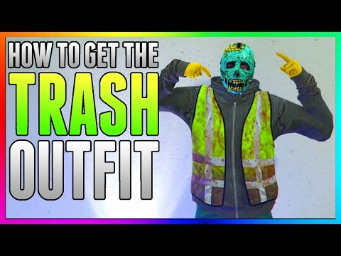 GTA 5 Online How To Save GARBAGE MAN OUTFIT GLITCH! Get Trash Man Outfit 1.39/1.27 (GTA 5 Glitches)