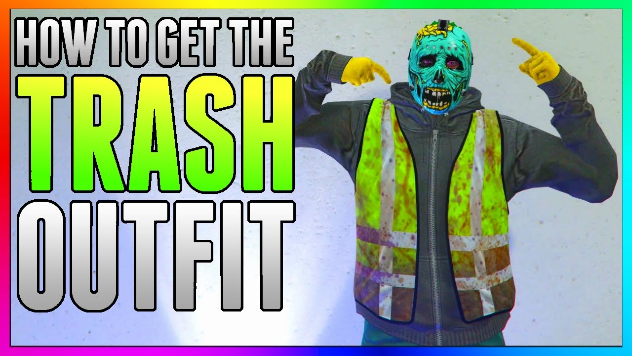 GTA 5 Online How To Save GARBAGE MAN OUTFIT GLITCH! Get Trash Man Outfit  1 39/1 27 (GTA 5 Glitches)