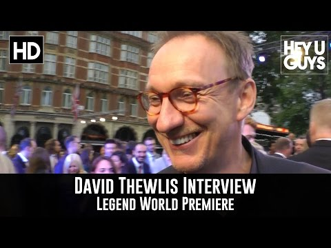 David Thewlis Interview - Legend World Premiere
