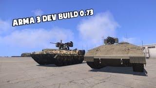 arma 3 beta dev build update 0 73 107952 btr k kamysh ifv 6c panther