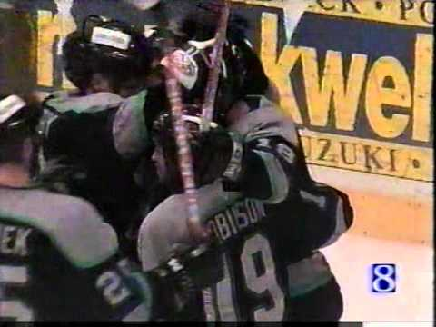 The Muskegon Fury win the 2004 UHL Colonial Cup Championship