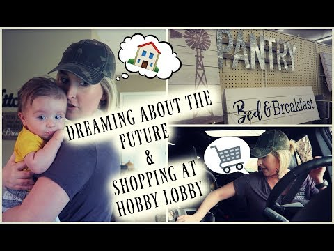 Shopping at Hobby Lobby & Dreaming About the Future! | VLOG | Summer Whitfield