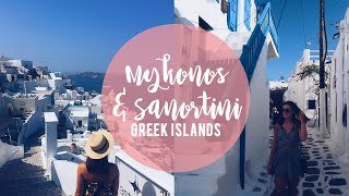LIVING IN A CAVE IN SANTORINI | Rylie Lane