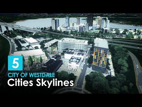 Cities Skylines: City of Westdale EP5 - Historical Palace, Commerical Complex