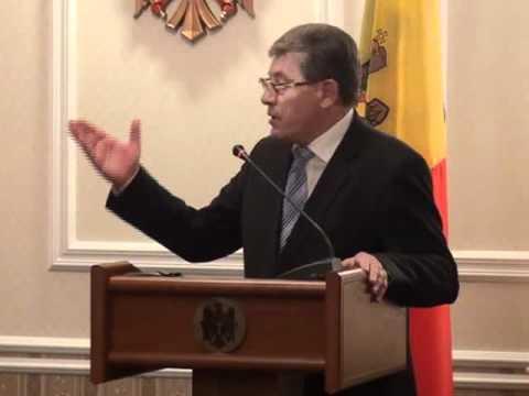 25 11 2010 Briefing sustinut de Presedintele interimar al RM, Mihai Ghimpu, si Presedintele Georgiei, Mihail Saakashvili